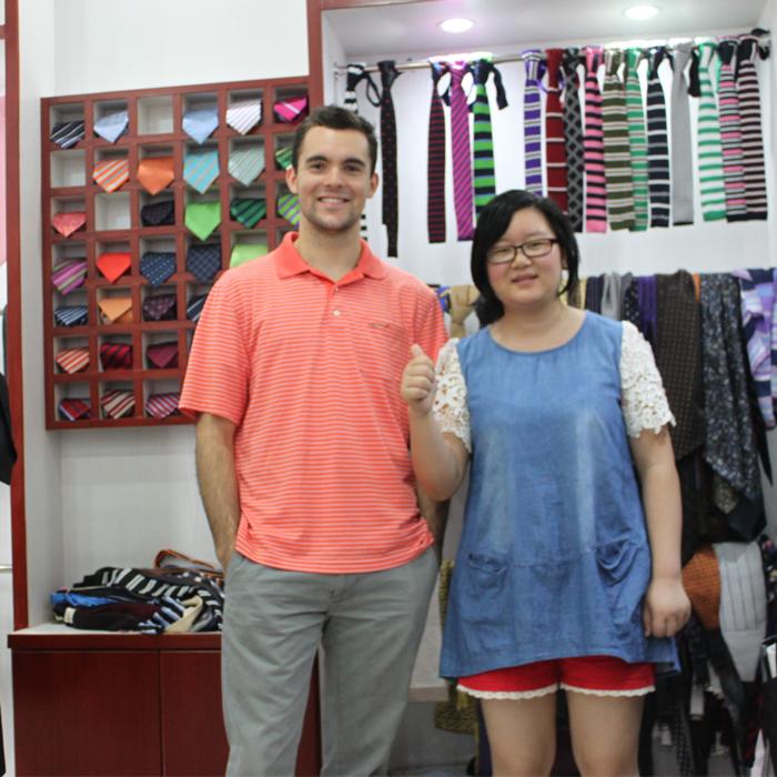 美国留学生中国创业 秀和支持你
