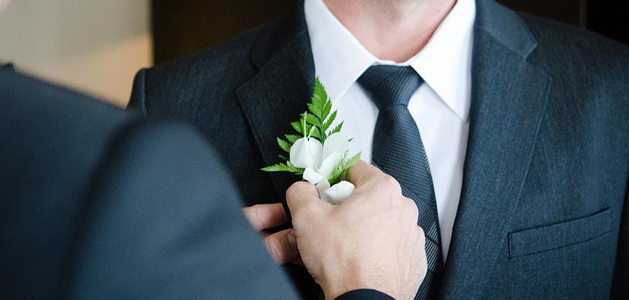婚庆领带搭配选择