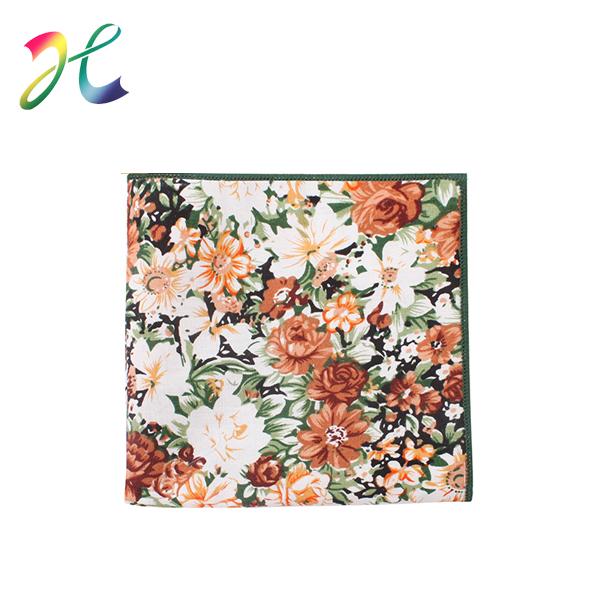 嵊州方巾生产商 玫瑰方巾 绣花方巾 女士方巾生产