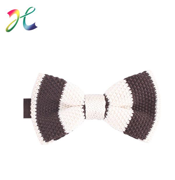 高档针织领结定制 男士韩版 潮 时尚结婚新郎蝴蝶结毛线领结