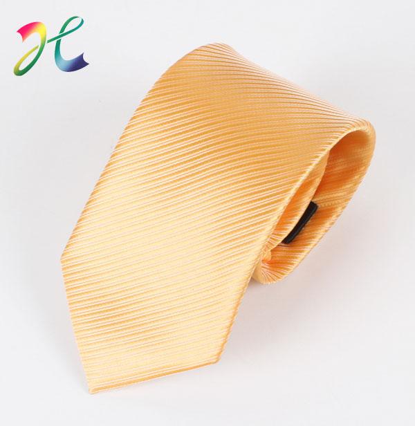 淘宝热销黄色商业领带