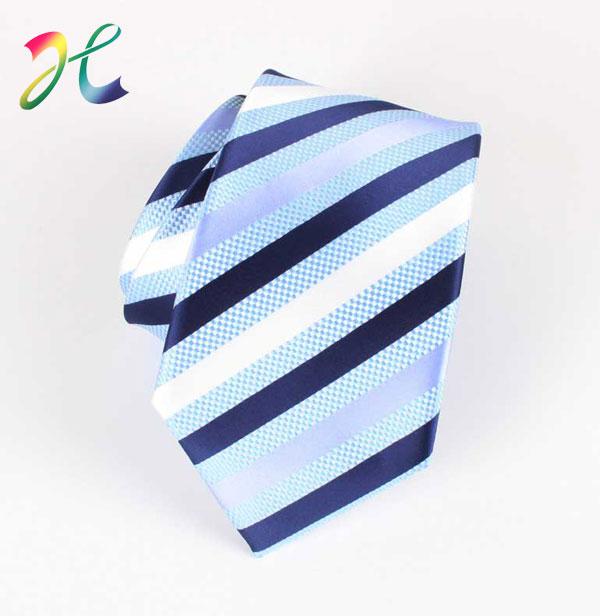 学校学生涤丝领带