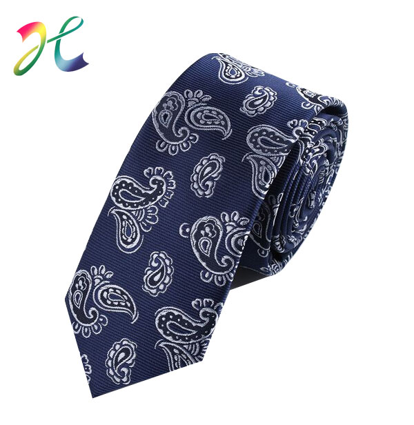 腰果花色织领带
