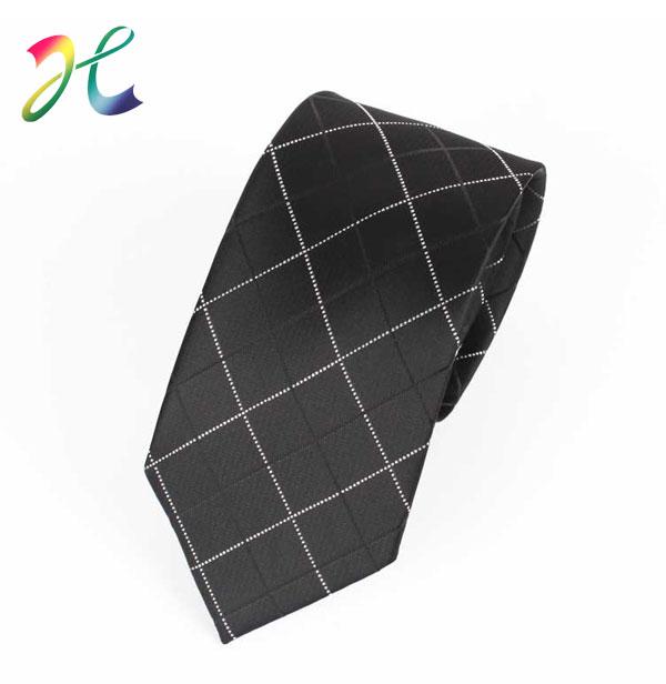 菱格色织领带