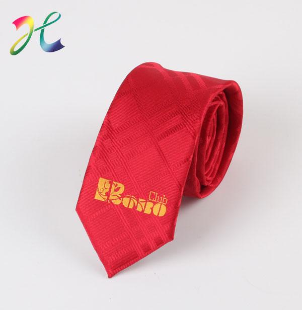 LOGO领带定制图案领带定制