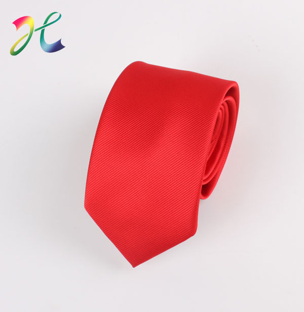 纯色条纹结婚领带