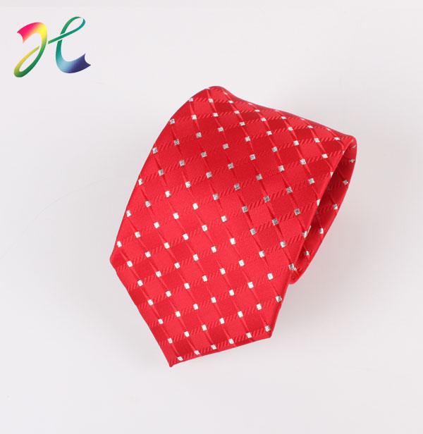 男士大红新郎领带 正装领带