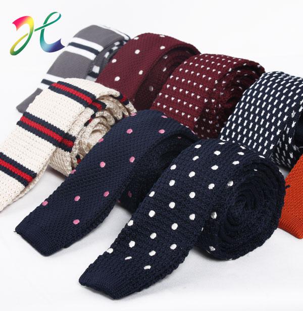 新款针织休闲领带 花纹领带