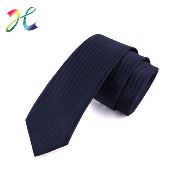 纯色条纹休闲领带