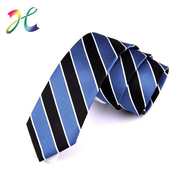 男士涤丝窄领带订制