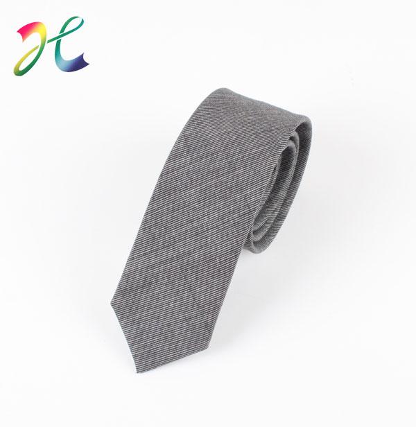 男士韩版窄领带定制