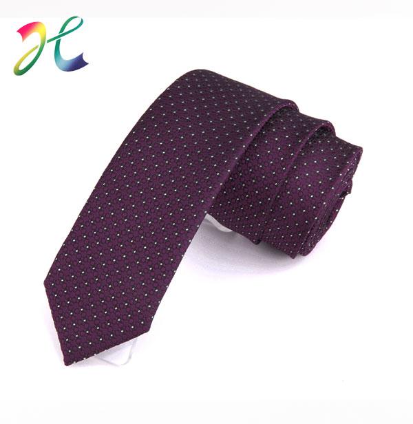 外贸波点休闲领带