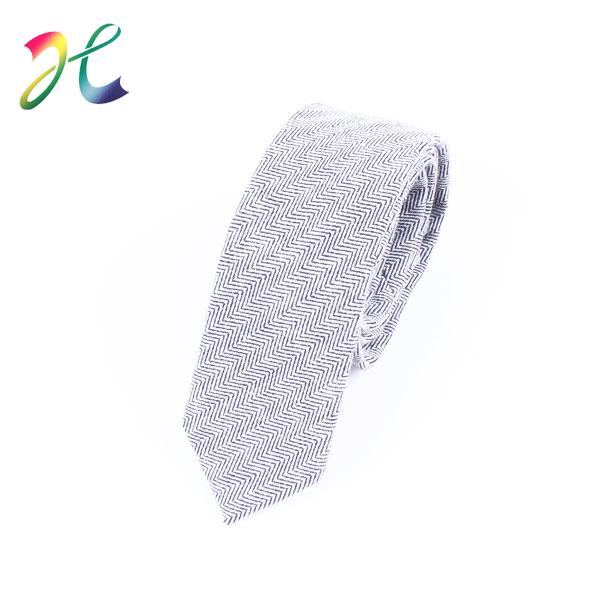 男士麻质领带定制