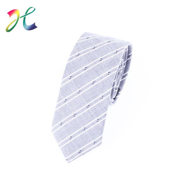 男士麻领带定制定做厂家