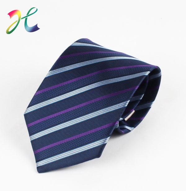 男士条纹正装领带定制