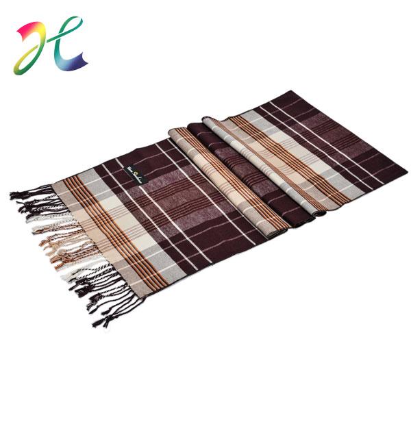 冬季新款涤丝拉绒围巾